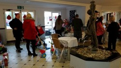 Christmas fayre at The Fountains Care Centre